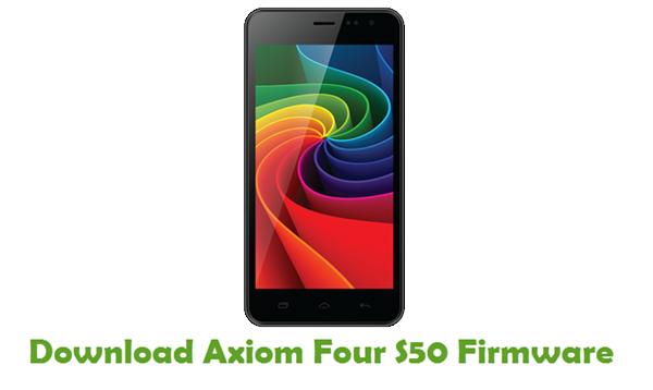 Axiom Four S50 Stock ROM