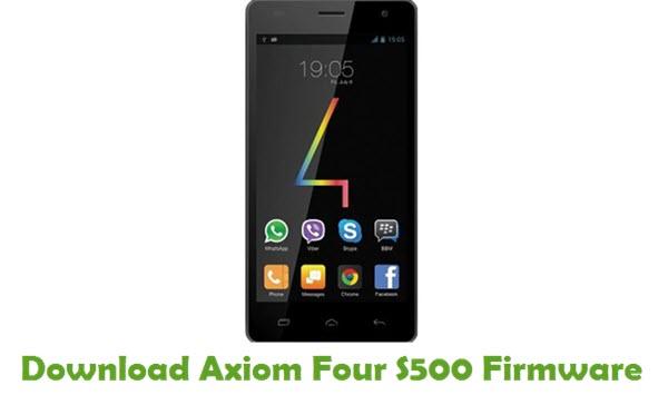 Axiom Four S500 Stock ROM