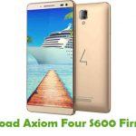 Axiom Four S600 Firmware