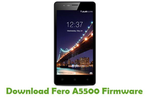 Fero A5500 Stock ROM