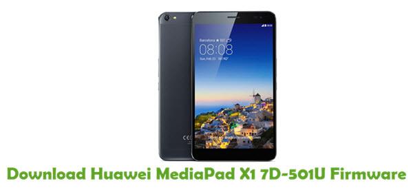 Download Huawei MediaPad X1 7D-501U Stock ROM