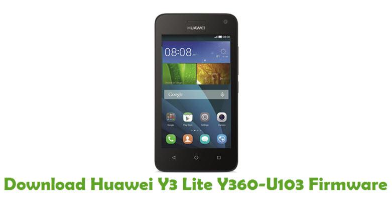 Download Huawei Y3 Lite Y360-U103 Stock ROM