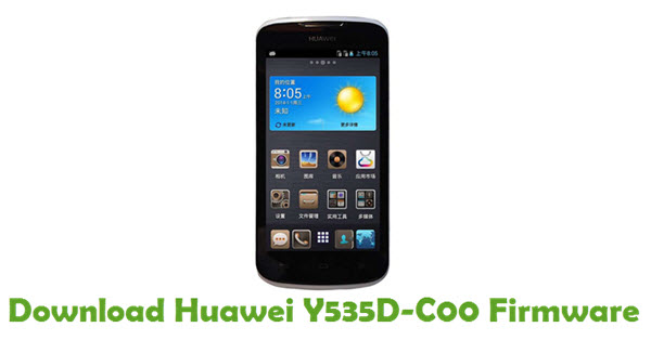 Download Huawei Y535D-C00 Stock ROM