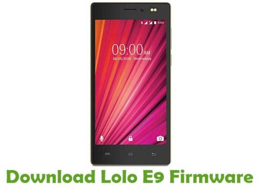 Download Lolo E9 Firmware