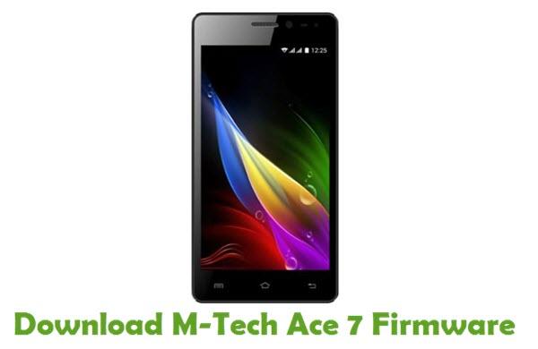 Download M-Tech Ace 7 Firmware