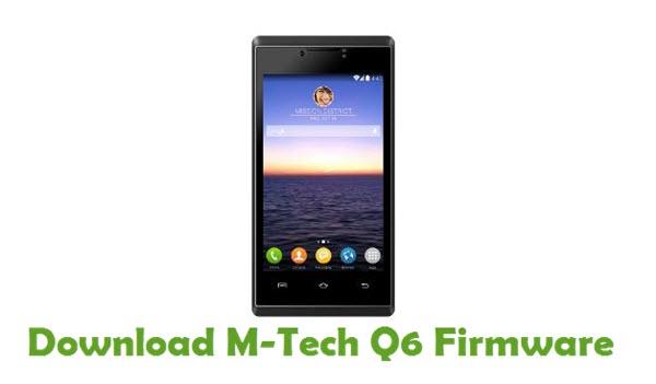 M-Tech Q6 Stock ROM