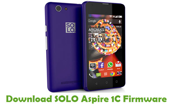SOLO Aspire 1C Stock ROM