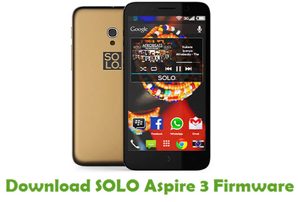 SOLO Aspire 3 Stock ROM