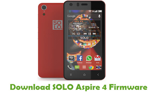 SOLO Aspire 4 Stock ROM