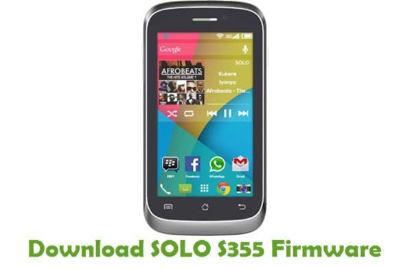 SOLO S355 Stock ROM