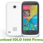 SOLO S400 Firmware