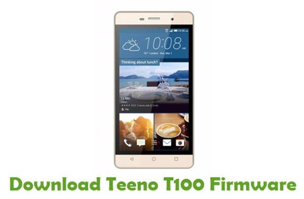Download Teeno T100 Firmware