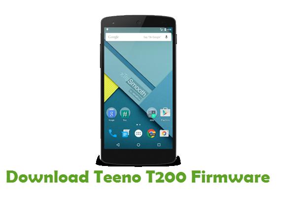 Download Teeno T200 Firmware
