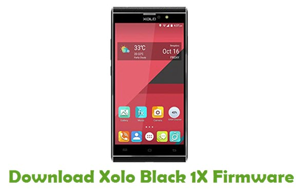 Xolo Black 1X Stock ROM