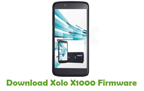 Xolo X1000 Stock ROM