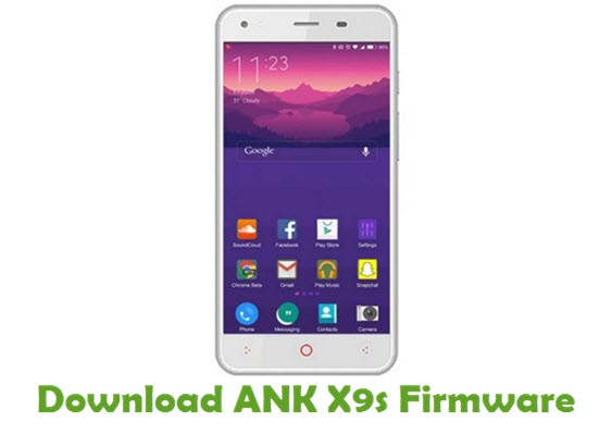 Download ANK X9s Stock ROM