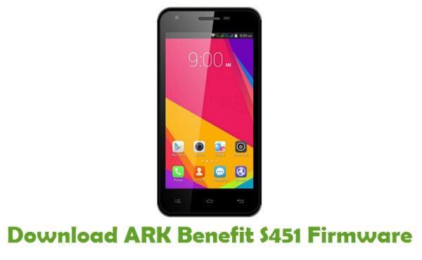 ARK Benefit S451 Stock ROM