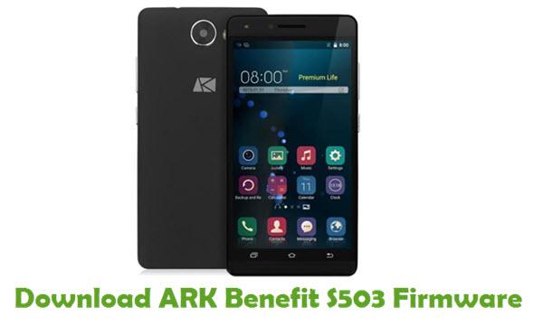 ARK Benefit S503 Stock ROM