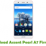 Accent Pearl A7 Firmware