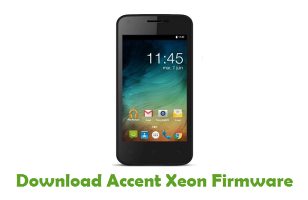 Download Accent Xeon Firmware