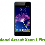 Accent Xeon S Firmware