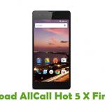 AllCall Hot 5 X Firmware