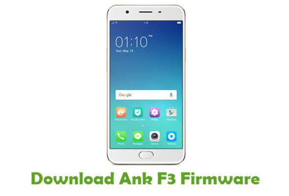 Download Ank F3 Firmware