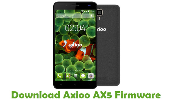 Axioo AX5 Stock ROM