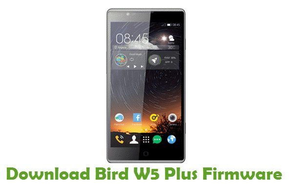Bird W5 Plus Stock ROM