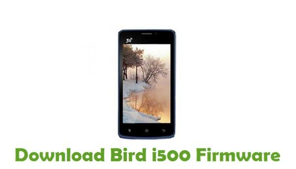 Download Bird i500 Stock ROM