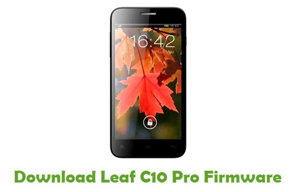 Leaf C10 Pro Stock ROM