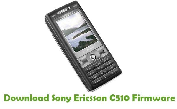 Sony Ericsson C510 Stock ROM