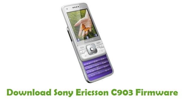 Sony Ericsson C903 Stock ROM