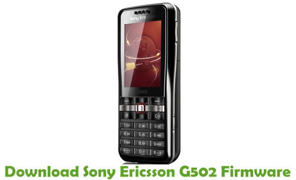 Sony Ericsson G502 Stock ROM