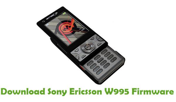 Download Sony Ericsson W995 Stock ROM