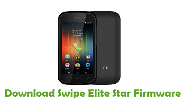 Download Swipe Elite Star Firmware