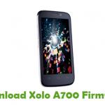 Xolo A700 Firmware