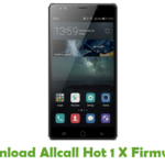 Allcall Hot 1 X Firmware