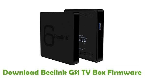 Beelink GS1 TV Box Stock ROM