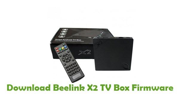 Beelink X2 TV Box Stock ROM