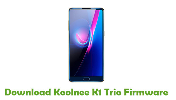 Koolnee K1 Trio Stock ROM