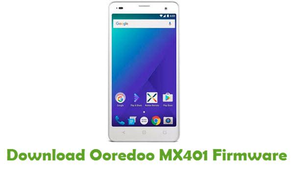 Ooredoo MX401 Stock ROM