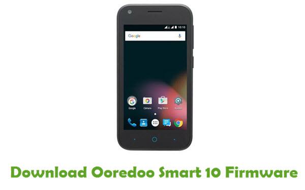 Ooredoo Smart 10 Stock ROM