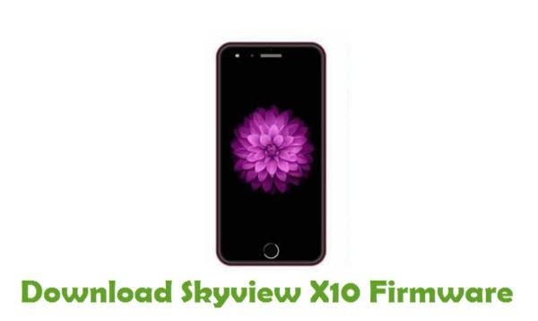 Skyview X10 Stock ROM