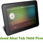 Akai Tab 7800 Firmware