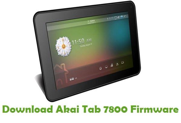 Akai Tab 7800 Stock ROM