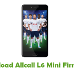 Allcall L6 Mini Firmware
