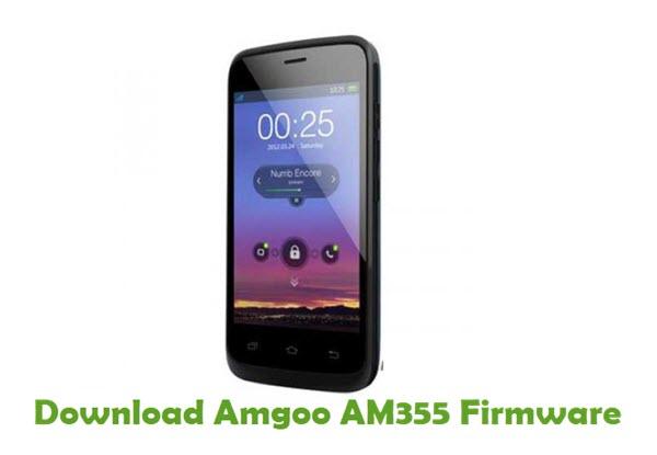 Amgoo AM355 Stock ROM