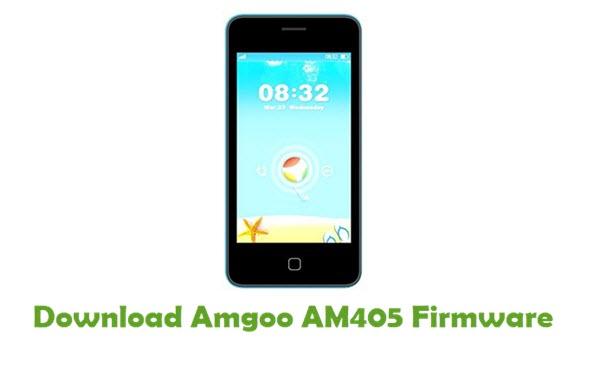 Amgoo AM405 Stock ROM