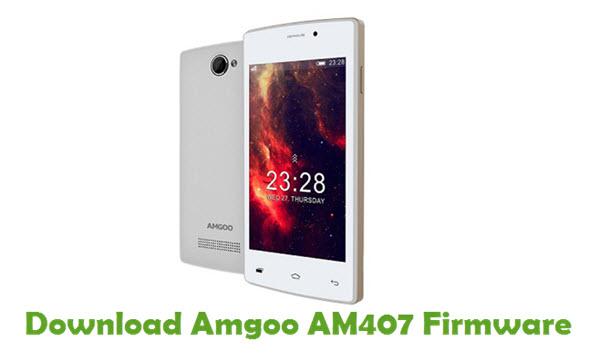 Amgoo AM407 Stock ROM